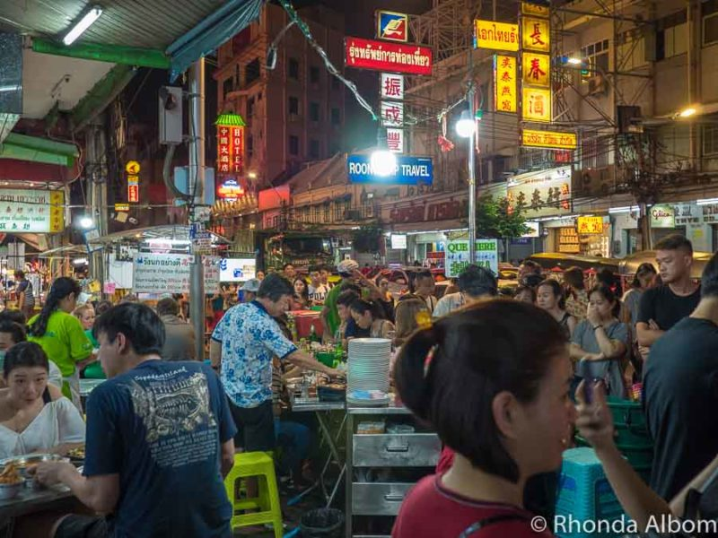 Trying street food at night is one of the many things to do during 3 days in Bangkok, Thailand.