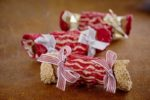 An edible Christmas Cracker filled with the best ice cream in Auckland New Zealand