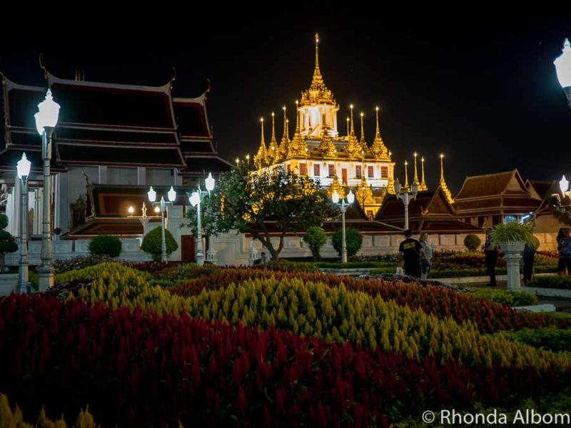 Loha Prasat Temple is one of the things to see in Bangkok Thailand