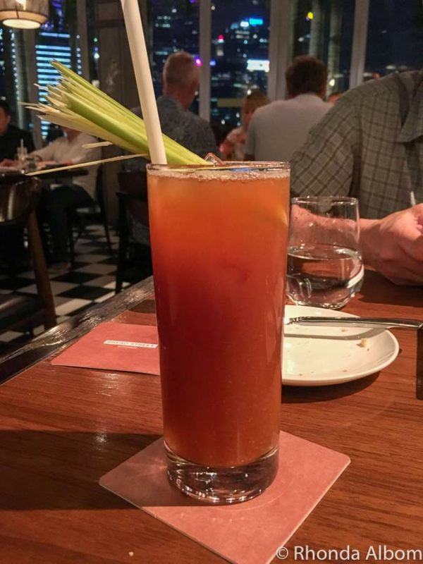 Drink at Bread Street Kitchen in Singapore