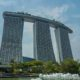 The three towers of Marina Bay Sands is the best place to stay in Singapore