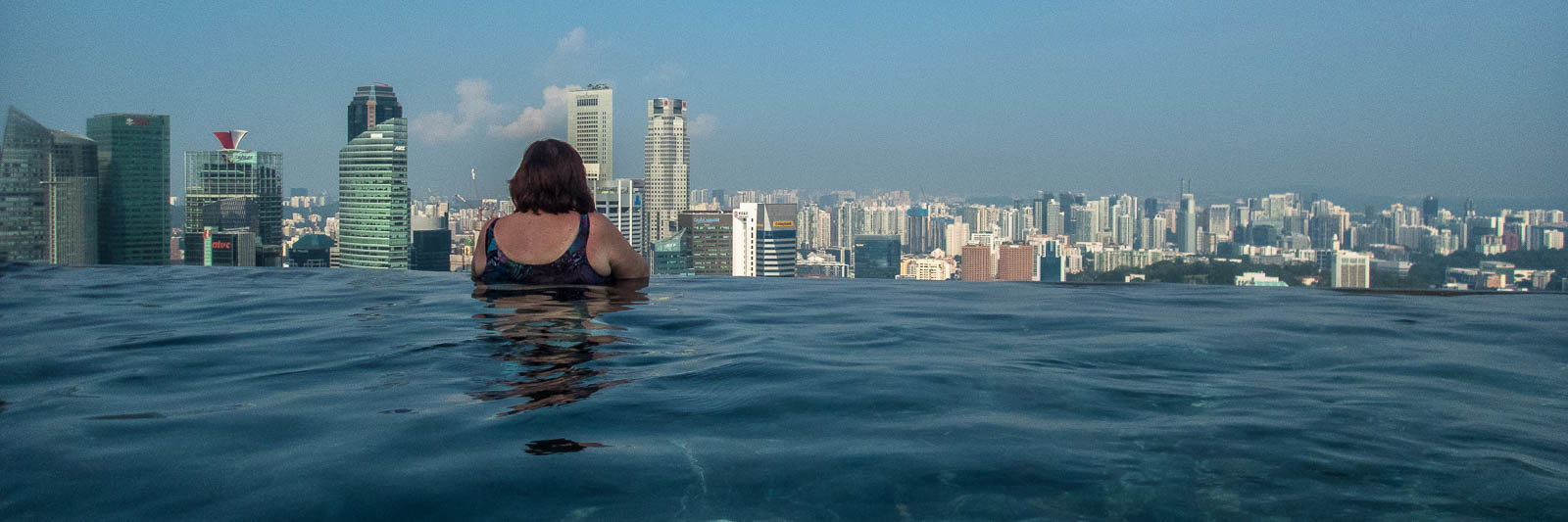 The world's largest Infinity pool and Marina Bay Sands review in Singapore