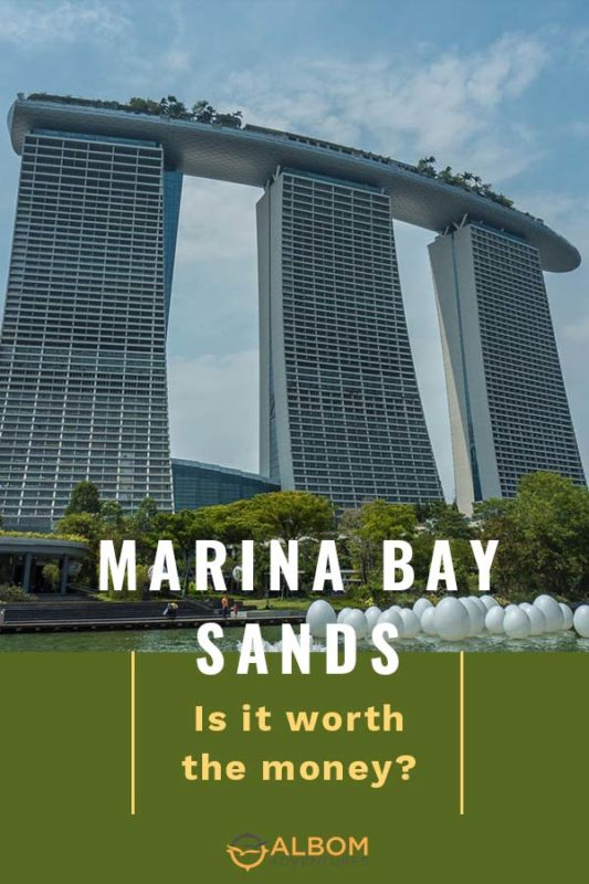 Marina Bay Sands is a stunning Singapore hotel that is architecturally interesting and an engineering wonder