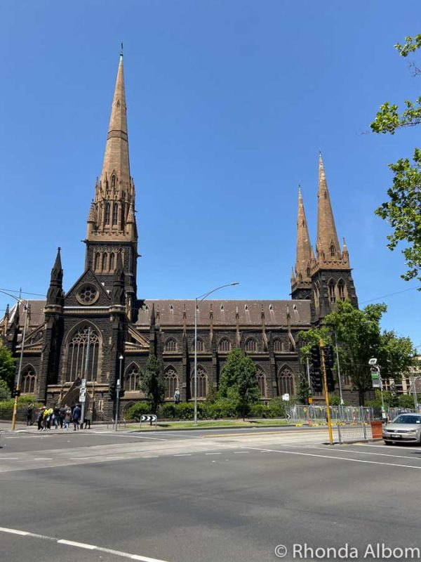 St Patrick's cathedral, Melbourne Australia