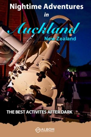 The Stardome Planetarium Zeiss telescope open for use at night in Auckland New Zealand