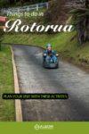 The luge in Rotorua New Zealand