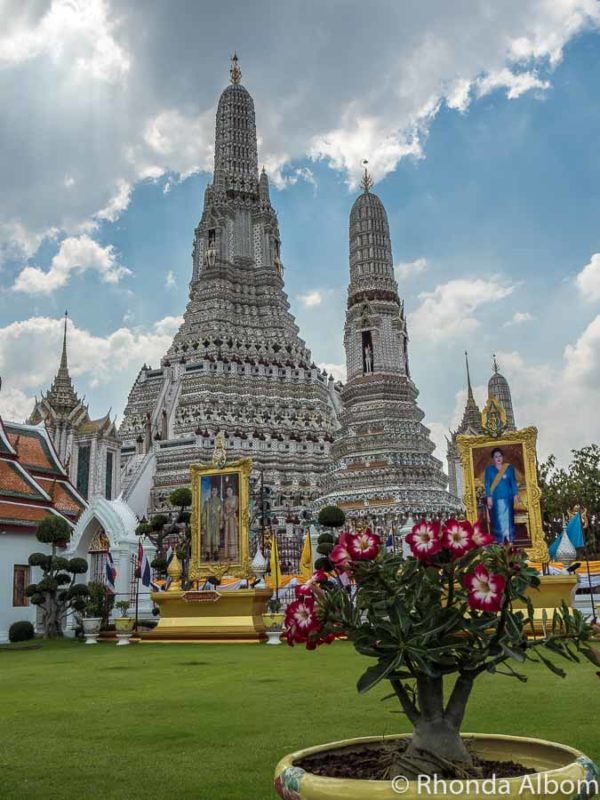 Reaching up to the sky, the Temple of Dawn should be on every Bangkok itinerary