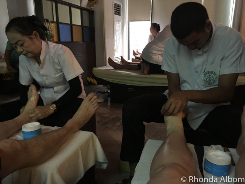 We made time to enjoy a traditional Thai massage even with only 3 days in Bangkok.