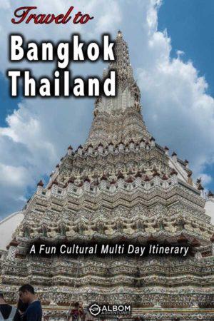 Temple of Dawn in Bangkok Thailand