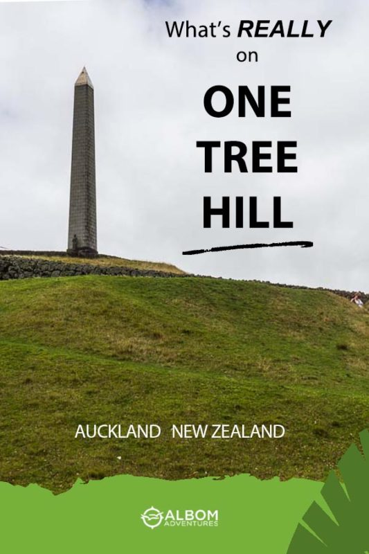 Obelisk on One Tree Hill Auckland New Zealand