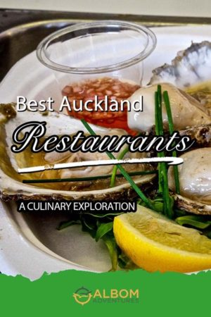 Oyster shooters and Al Brown's Depot Eatery in Auckland New Zealand