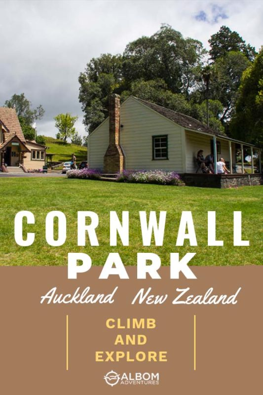 Acacia Cottage, built by Sir John Logan Campbell, is Auckland's oldest surviving wooden building in Cornwall Park