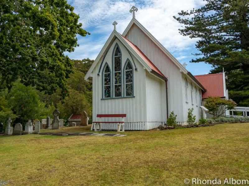 St James Anglican Church, at the Kerikeri Mission Station, Bay of Islands, New Zealand