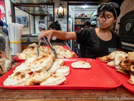 Empanadas served in Argentina