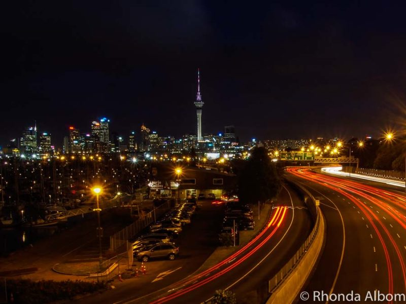 Skyline highlights the things to do in Auckland at night