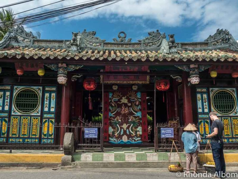 Quan Cong Temple is one of many colourful temple in Hoi an ancient town