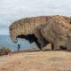 Remarkable Rocks at Flinders Chase Park on Kangaroo Island, Australia.