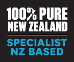 Official New Zealand Specialist badge from New Zealand Tourism Board