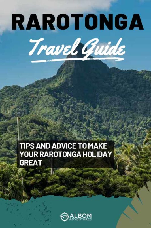 The Needle Peak on Rarotonga in the Cook Islands