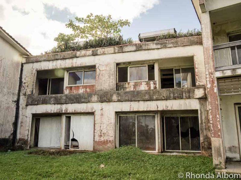 Sheraton Hotel Abandonado, Rarotonga, Islas Cook