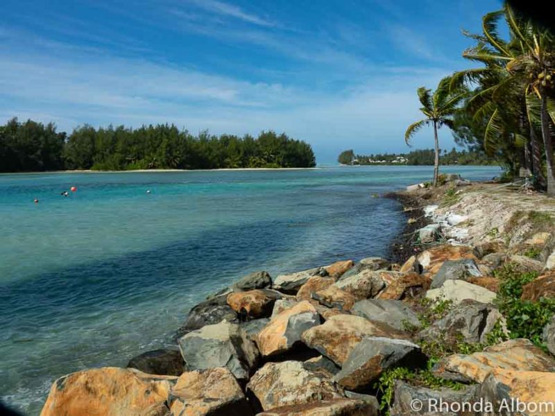 Rarotonga Muri Lagoon in the Cook Islands