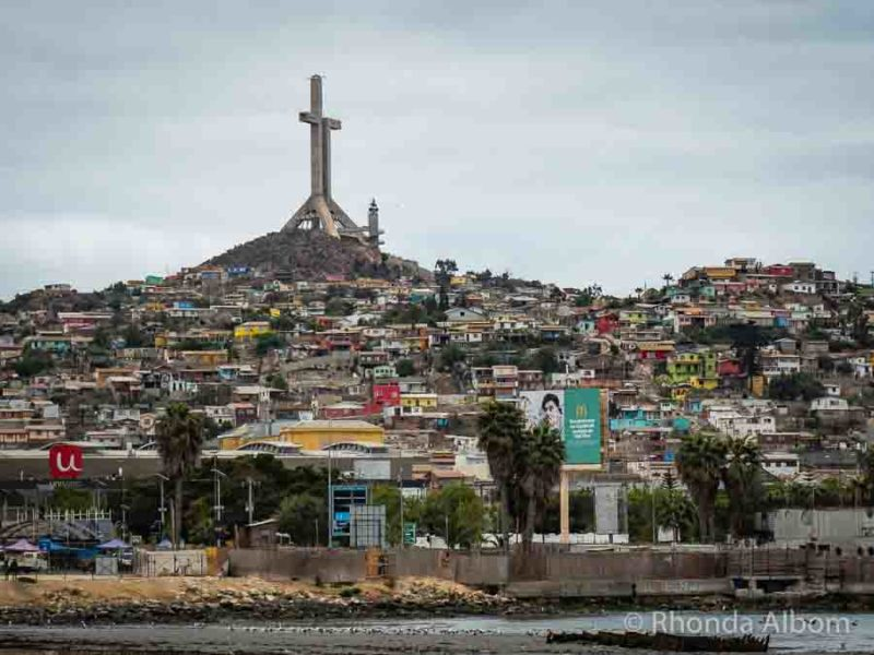 Seeing the Giant Cross in Coquimbo is one of many Chile travel tips