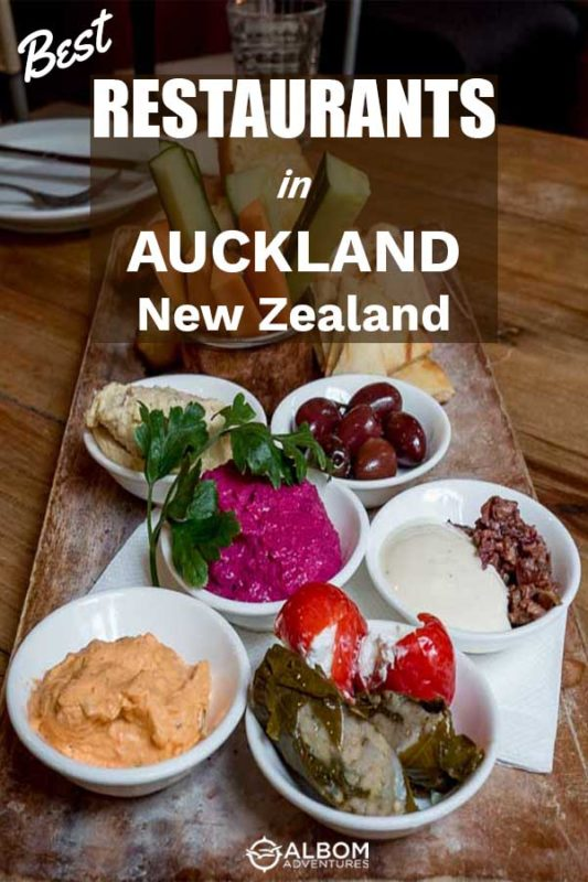 A table full of plates of food at Mezze Bar in Auckland New Zealand