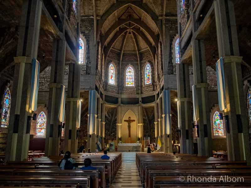 Nahuel Huapi Iglesia in San Carlos de Bariloche, Argentina.