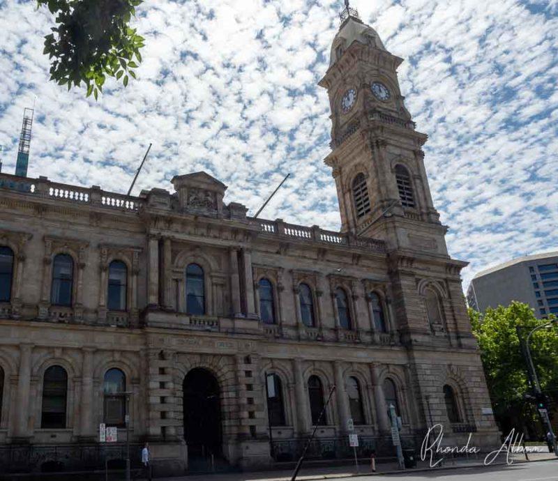 La oficina principal de correos en Adelaide, Australia del Sur.
