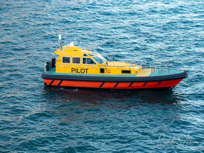 Barco piloto en Australia