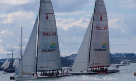 Royals Racing in Auckland on America's Cup Yatchts