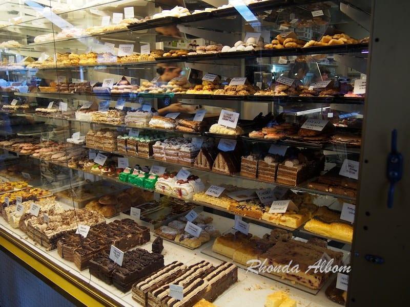 Cakes on Acland Street, St Kilda, Melbourne Australia