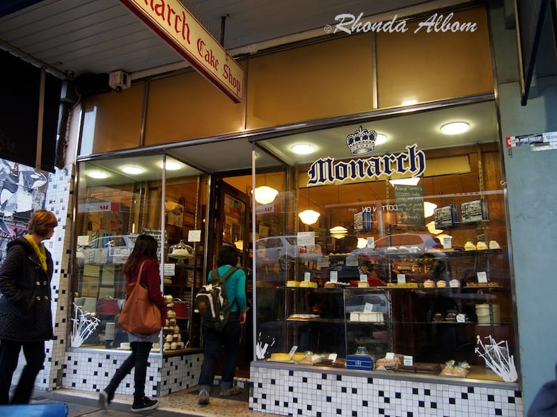 Monarch Cake Shop on Acland Street, St Kilda, Melbourne Australia