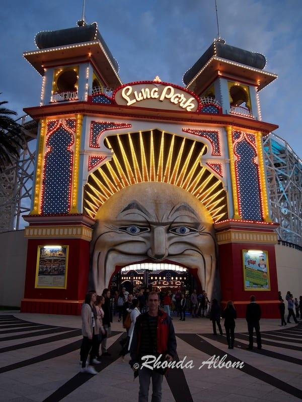 Luna Park in St Kilda Melbourne Australia