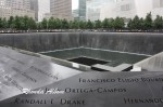 Memorial at Ground Zero in New York ~ #AtoZ AmaZing Photos
