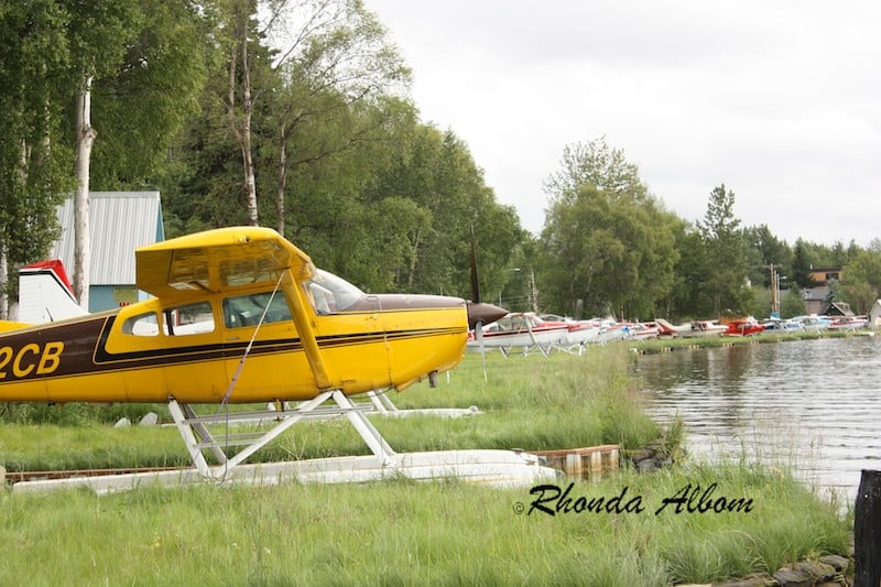Seaplane Base on Lake Hood in Anchorage Alaska is the world's busiest seaplane airport