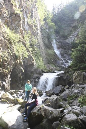 Skagway waterfall