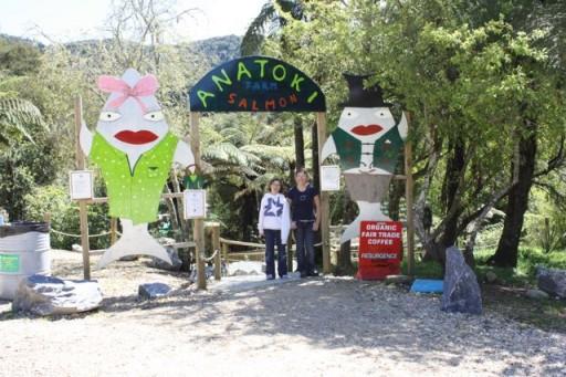 Anatoki Salmon Farm