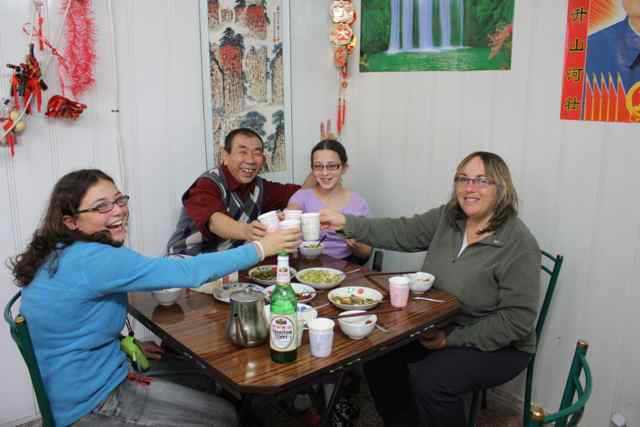 lunch with hutong locals