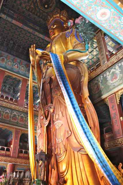 Largest buddha of sandalwood