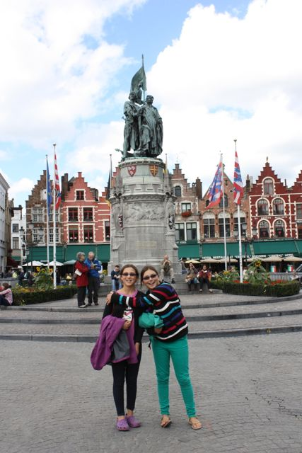Grote Market in Burges Belguim