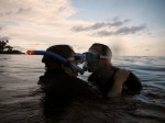 Anniversary Kiss Under the Sea in Samoa