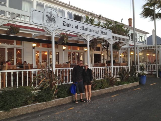Duke of Marlborough Hotel in Russell New Zealand