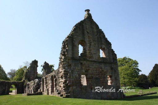 The ruins of Fountain Abbey, one of the Many Old Abbeys of England