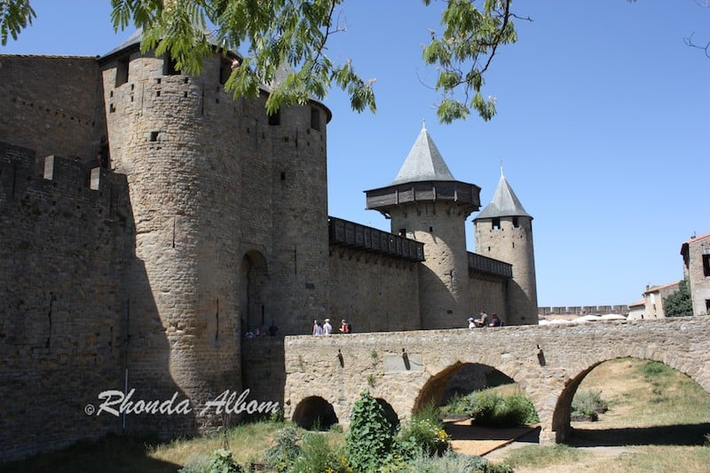 Carcassone Castle in France