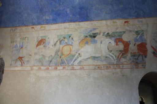 Fresco of horse