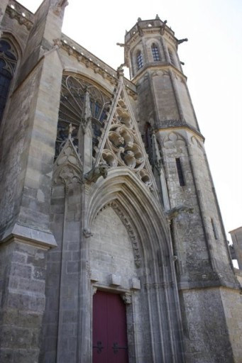 Carcassone France Cathedral