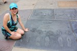 Famous Hand and Foot Prints at Grauman's Chinese Theater