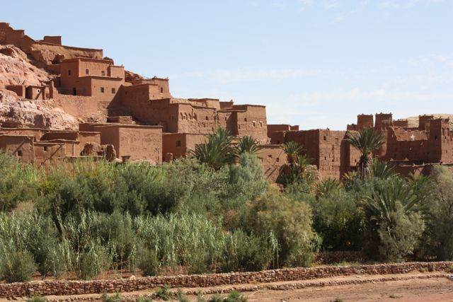 Kasbah where they made gladiator