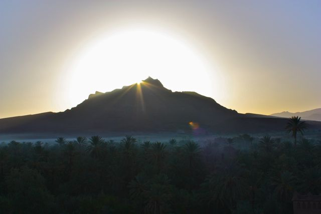 Agdz sunrise
